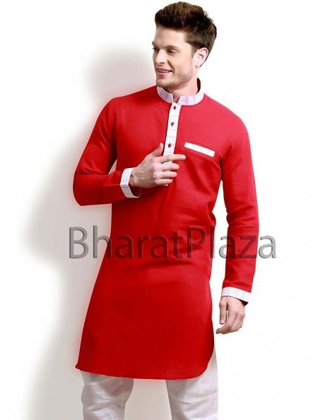 Opulence Linen Pathani Suit Item code : SKB2704R  http://www.bharatplaza.com/new-arrivals/kurta-pyjamas/opulence-linen-pathani-suit-skb2704r.html