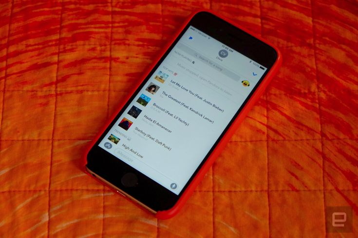 Pandora's iMessage app lets you share songs and stickers