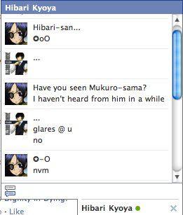 Hibari Kyoya :- *Glares @ you*