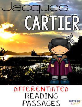 Jacques Cartier Nonfiction Differentiated Reading Passages