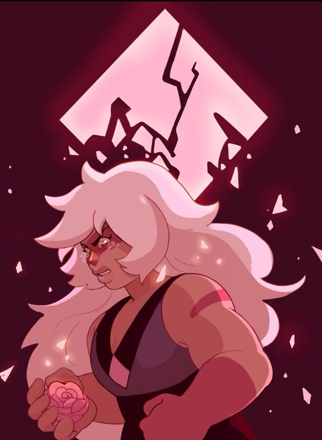 """""""Because of what you did to my diamond ! Your diamond ! I was so surprised by this I had no idea Jasper's diamond was pink diamond"""