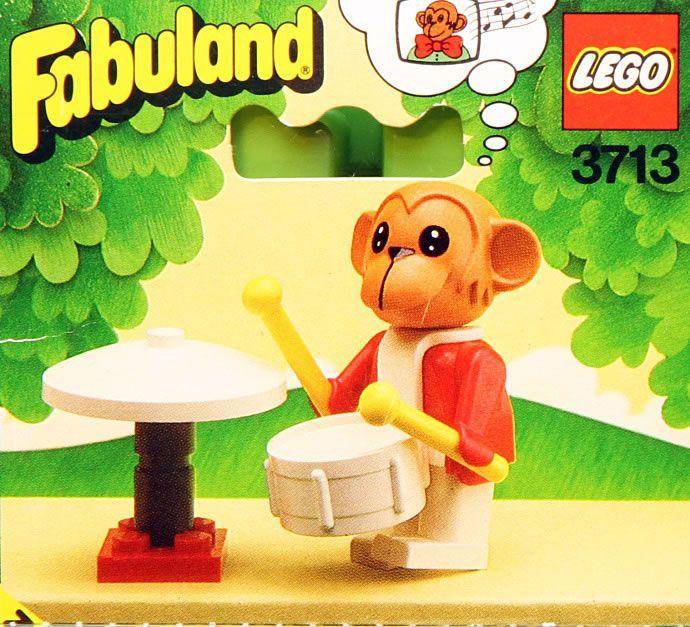 3713: Mike Monkey  Fabuland, 1984