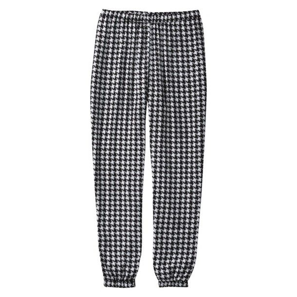 $24.99 printed houndstooth ankle pant via @Target Style #fall #style