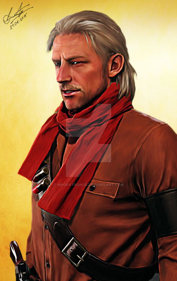 Revolver Ocelot. Metal Gear Solid 5: Phantom Pain by MrGraysonCE.deviantart.com on @DeviantArt