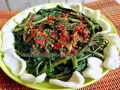 Resep Rujak Kangkung | Resep Masakan Indonesia (Indonesian ...
