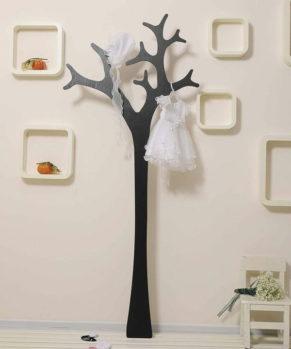 Les 25 meilleures id es de la cat gorie porte manteau for Decoration murale arbre en bois