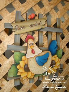 Arte Madeira Joinville: Pintura Country e Folk Art