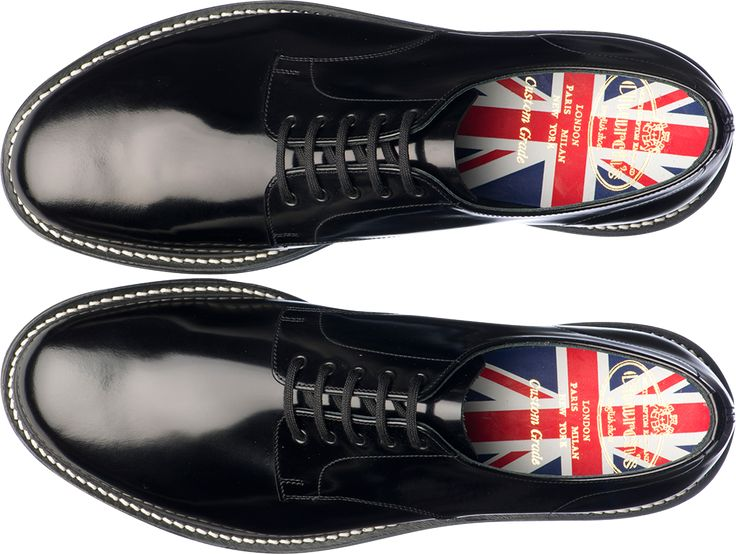 Church's Shoes Northampton England. Limited Edition 2012 / Man Stratford Polished Fume Black