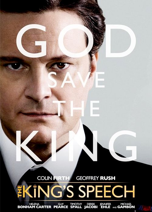 Colin Firth, King George VI - The King´s Speech directed by Tom Hooper (2010) #stuttering