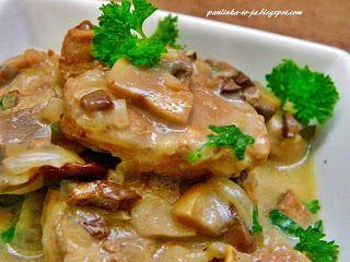 Polędwiczki w sosie grzybowym - http://www.mytaste.pl/r/pol%C4%99dwiczki-w-sosie-grzybowym-7957274.html