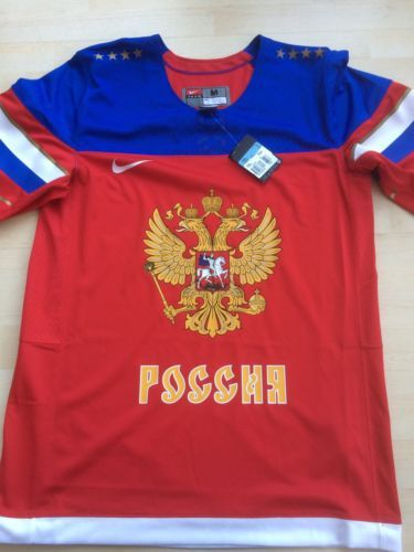 Russia ice hockey jersey by nike size #large #national team iihf #brand new,  View more on the LINK: http://www.zeppy.io/product/gb/2/262251132037/