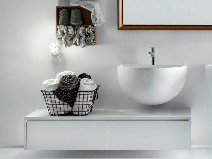 Lavabo suspendu en Ceramilux® BOWL Collection Bowl by FALPER | design Falper Design