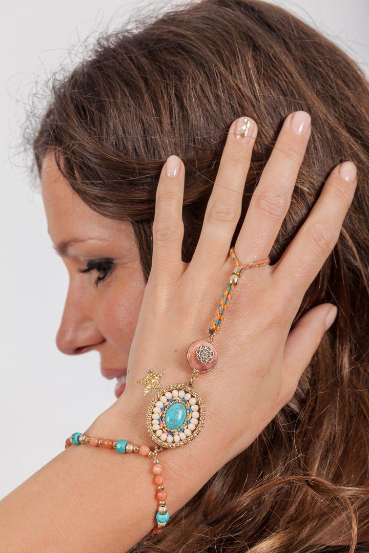 Beautiful Hand Piece Ibiza Style SS 2015
