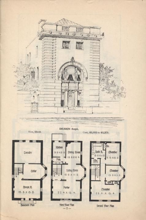 Artistic city houses no 43 this old house pinterest for Poplar forest floor plan