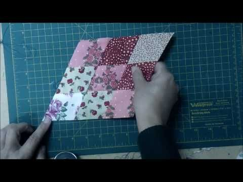 Patchwork Facil - Cubos e Lone Star - YouTube