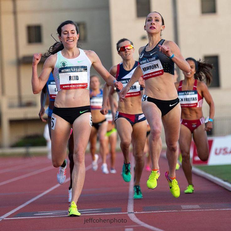Sheila Reid and Shannon Rowbury. #athletics #trackandfield #running