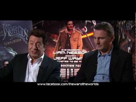 Jeff Wayne and Liam Neeson