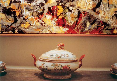 """Louise Lawler, """"Pollock and Tureen,"""" 1984, Metropolitan Museum,"""