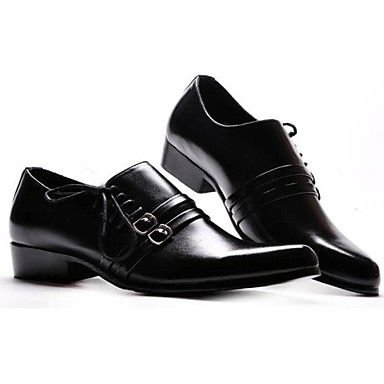 Wedding  Shoes  Real Leather Low Heels Modern Shoes for Men – EUR € 30.08