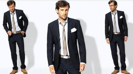 Коллекция мужских деловых костюмов