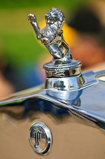 "1927 Franklin Sedan ""Rampant Lion"" Hood Ornament"