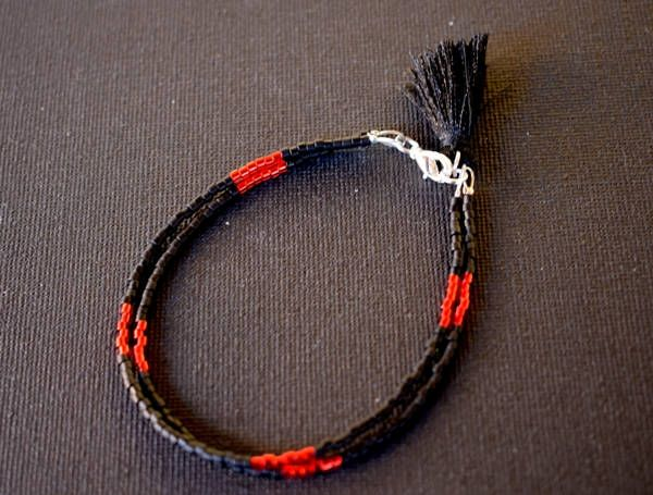 Minimalist bracelet, Delicate bracelet, friendship bracelet, seed beads bracelet, festival bracelet, gift for her, tassel bracelet