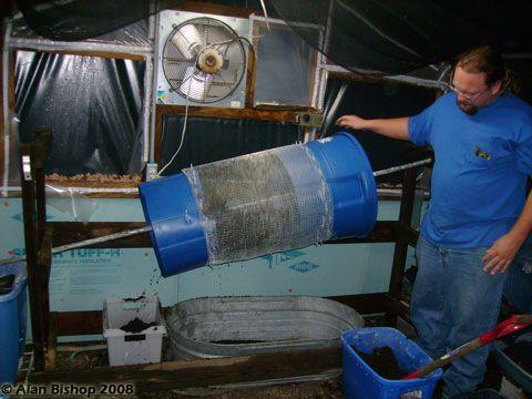 DIY Worm Harvester | Red Worm Composting