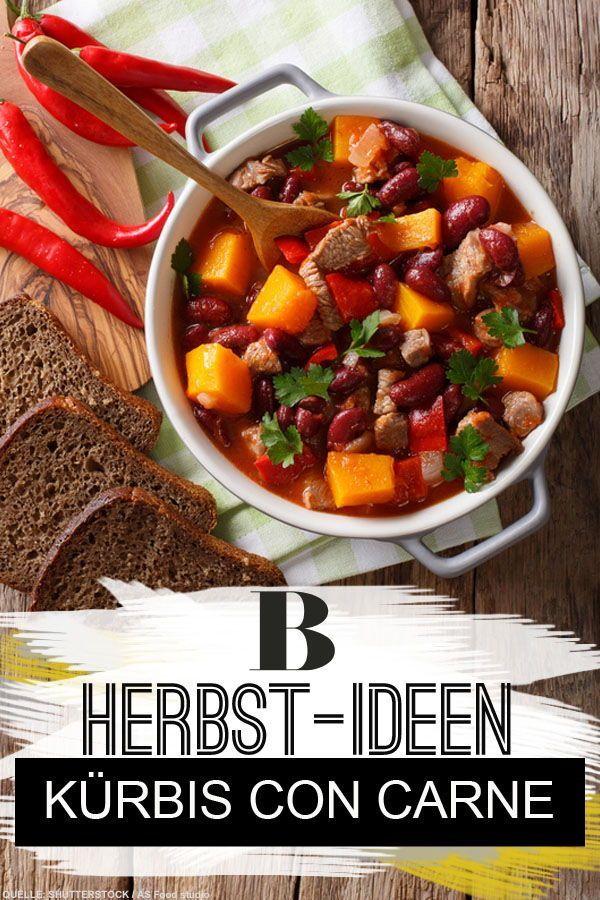 Kürbis Con Carne Rezept Brigittes Beste Kürbisrezepte