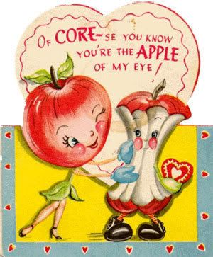 Adorable valentine, courtesy of Meri!