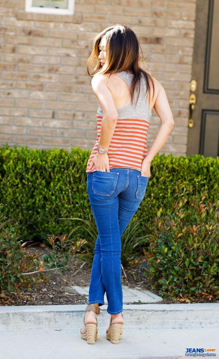 super tighta jeans låg upphov midja heta blonda sexiga kvinnor knubbig rumpa charmig bröst vackra asiatiska flickor 4662 jpg