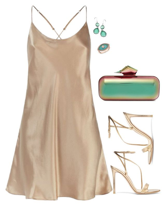 """""""Gianvito"""" by tina-pieterse ❤ liked on Polyvore featuring Jimmy Choo, Anne Sisteron, Harrods, Gianvito Rossi and Ippolita"""