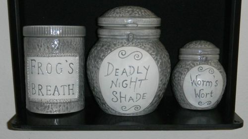 Want for greenroom and Halloween it's  Sally's Jar set!!!!