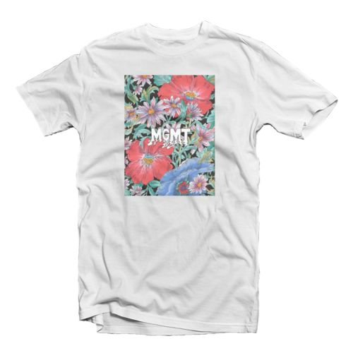 MGMT flower tees oleh Treibound werehouse