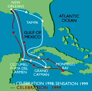 Carnival Cruise from Galveston to Cozumel Play del Carmen and