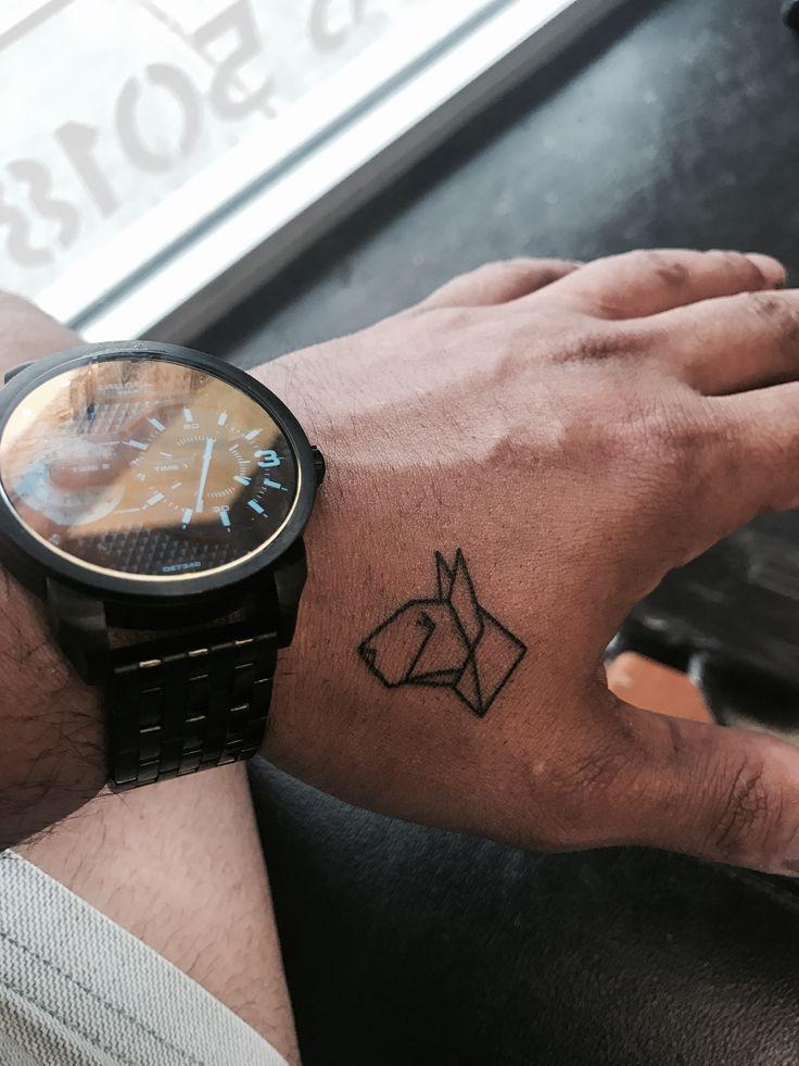 Bull Terrier Tattoo Diesel Watch