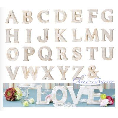 画像1: もみの木素材のアルファベットオブジェ(高さ約12cm・AからZ、&の中で1文字選べます)