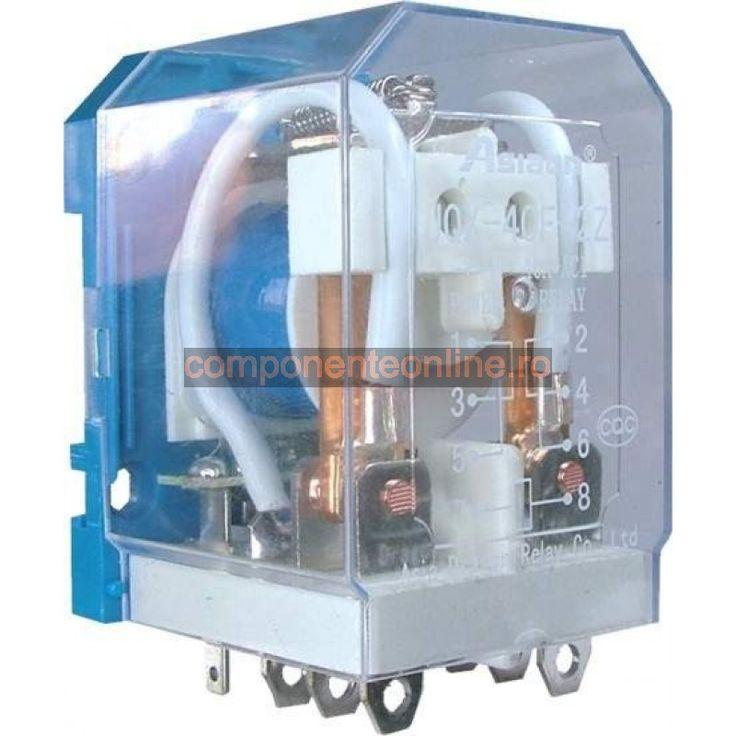 Releu 220V AC, 40A, 47x50x65mm, JQX-40F2Z - 128457