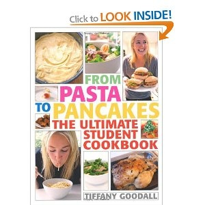 """""""Written when she was just 22 years old, this book by Tiffany Goodall is filled with step-by-step picture recipes for wholesome, simple food, plus ideas for left-overs."""" Sainsbury's Magazine £9.99. UK edition. www.quadrille.co.uk"""