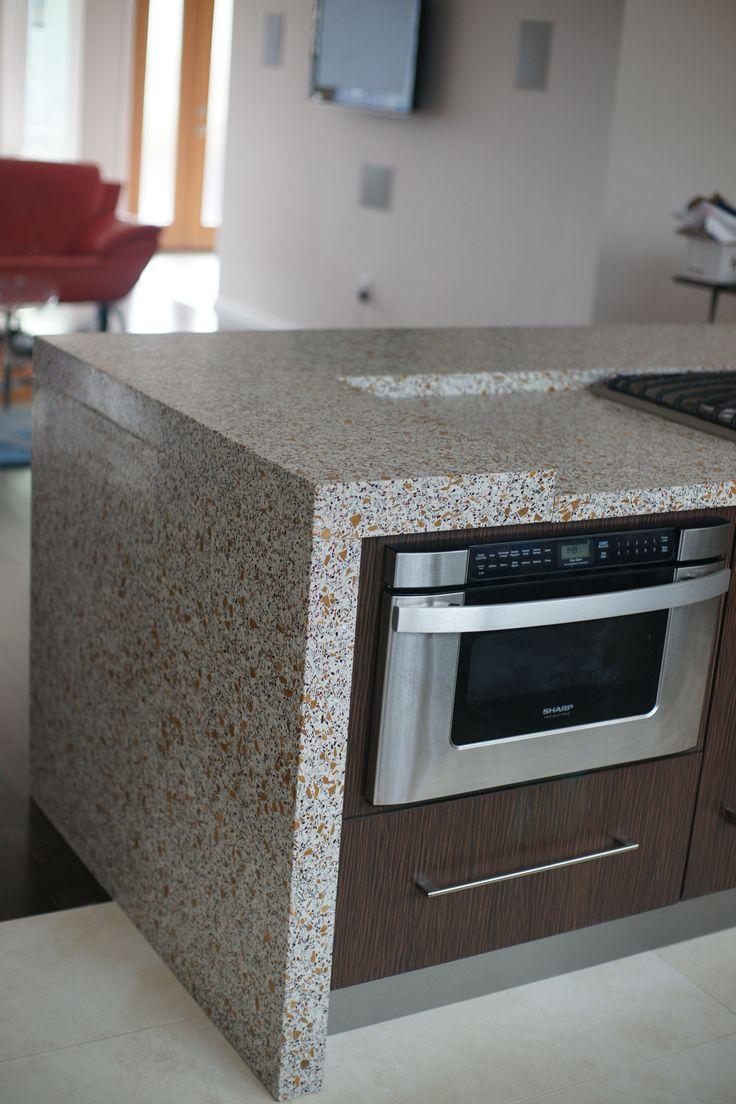 Concord Terrazzo Countertops Are A Great Way To Provide An Unique And Customized Hard Surface Finish Option For Your Residential Or Commercial Project