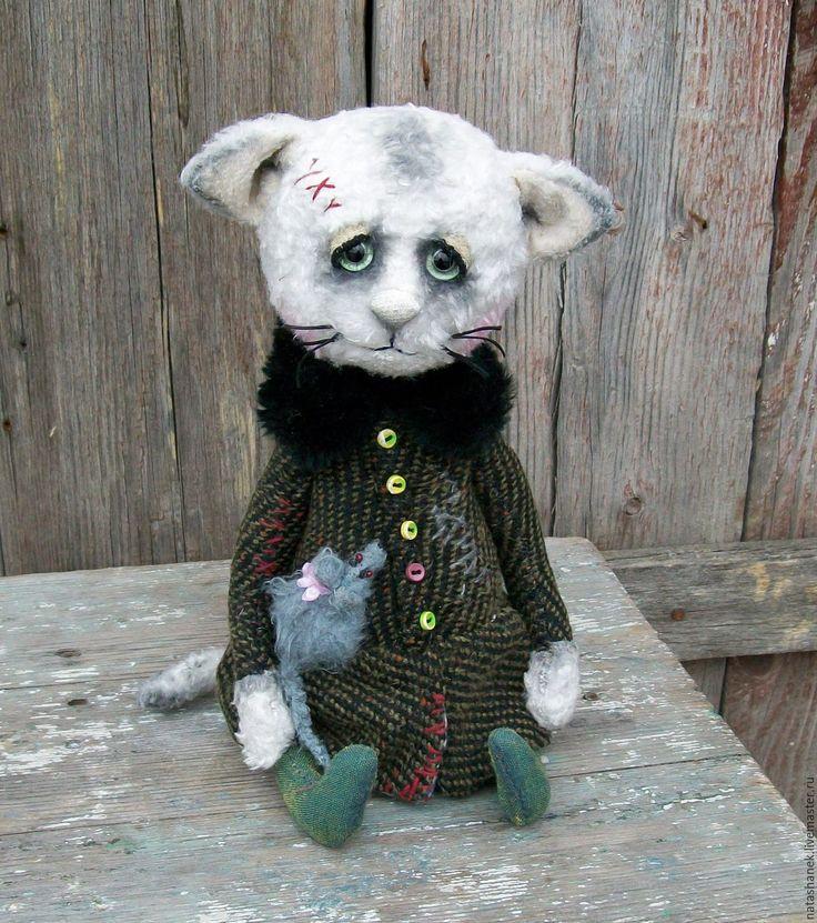 Купить Дусенька. котенок тедди котик тедди котенок весна пришла - белый, котенок тедди
