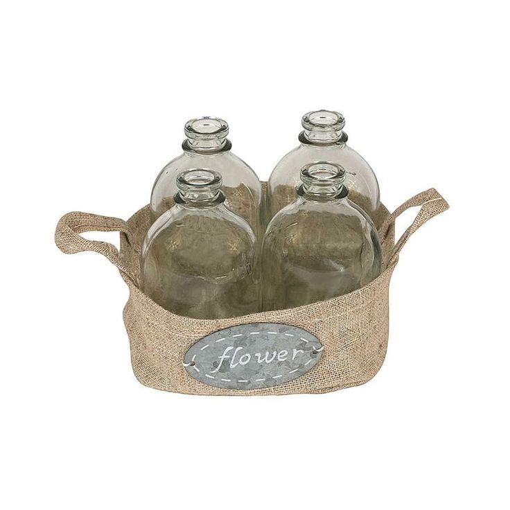 5-Pc. All Bottled Up Glass Vases Set - Dot & Bo