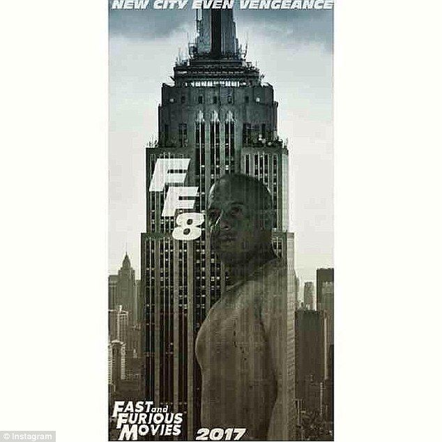 It's official: Universal Pictures released the first poster from Fast And Furious 8 on Thu...