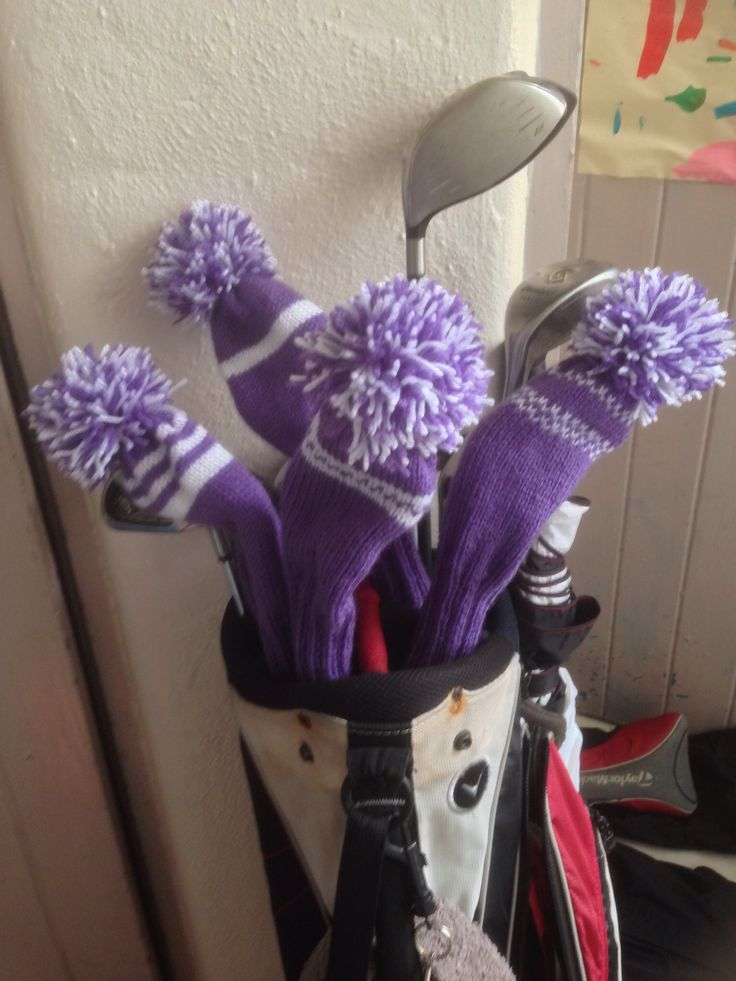 Free Knitting Pattern Golf Club Headcovers : Pinterest   The world s catalog of ideas