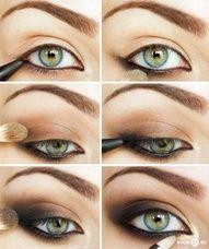 .: Eye Tutorial, Smoky Eye, Makeup Ideas, Green Eyes, Eyemakeup, Eye Make Up, Eyeshadows, Smokey Eye, Eye Makeup Tutorials