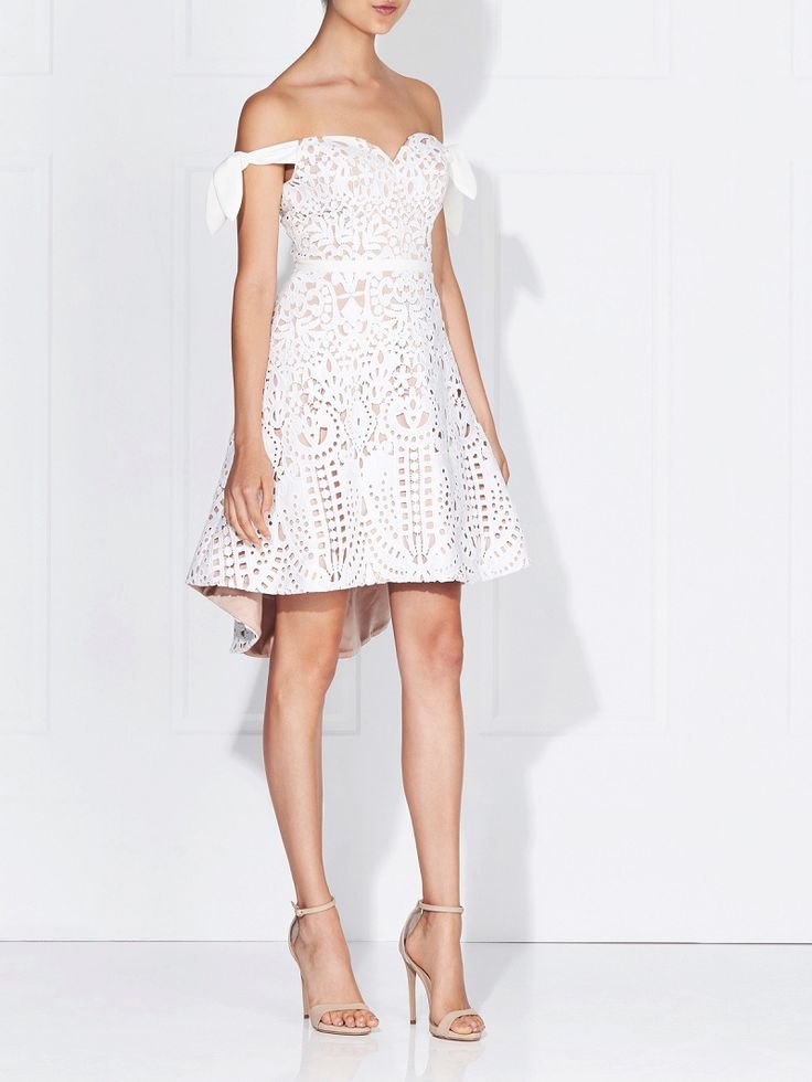 Love Honor - Kayla Lace Dress Ivory
