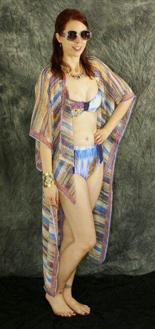 Fabulous #vintage #swimsuit #bikini @Filosofia_Swim #winners cover-up!: http://www.thepurplescarf.ca/2015/04/fashion-my-style-filosofia-retro-bikini.html #beachstyle #thepurplescarf #melanieps #toronto