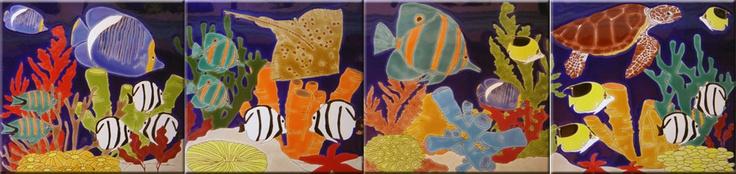 Arrecifes con todo el color del caribe