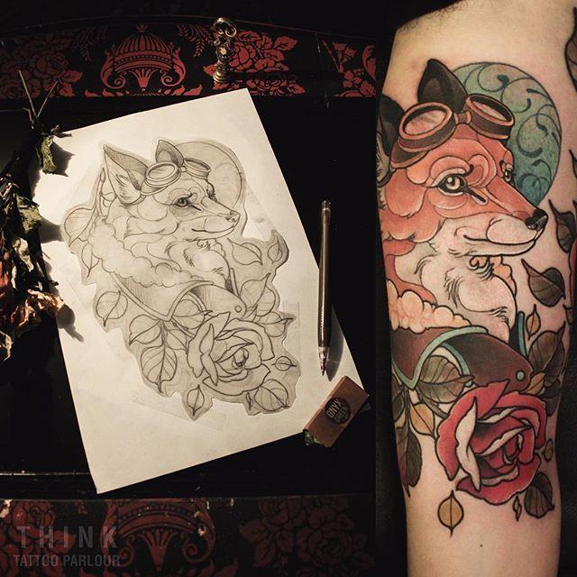 Diseño y tatuaje como tiene que ser gracias Gonzalo por la confianza en mi trabajo y la buena onda  Por diseños así, marcar un turno o cualquier consulta mandar mensaje privado, estaré respondiendo lo antes posible, muchas gracias