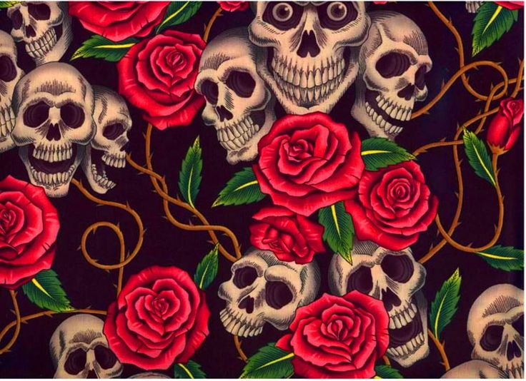 41 best images about Skulls & Roses on Pinterest