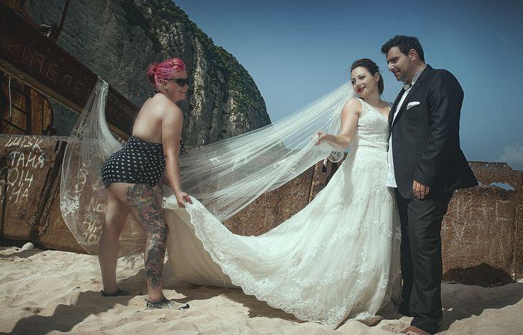 Wedding in Zakynthos / Shipwreck Cove